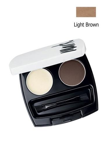 Avon Mark Kaş Şekillendirici Bakım Kiti Light Brown Kahve